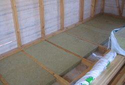 Фото - Як утеплити підлоги по лагам?