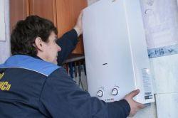Схема установки водонагрівача