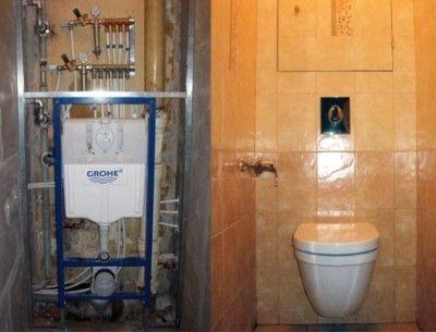 Як вибрати інсталяцію для підвісної або підлогового унітазу
