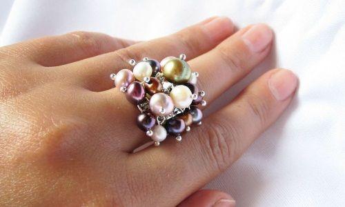 Фото - Як вибрати кільце з перлами?