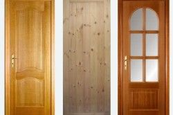 Деревяні міжкімнатні двері