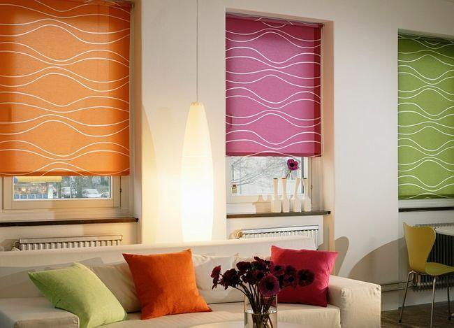 Фото - Як вибрати відповідні рулонні штори?