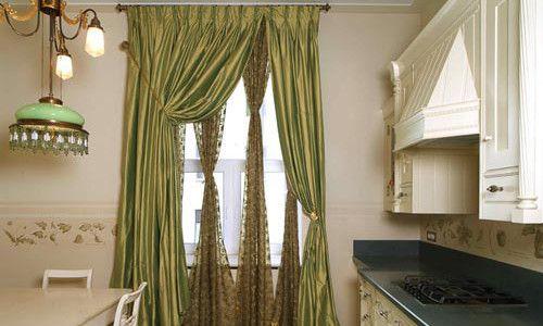 Фото - Як вибрати відповідні штори для кухні
