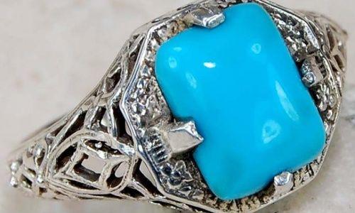 Фото - Як вибрати срібний перстень з бірюзою