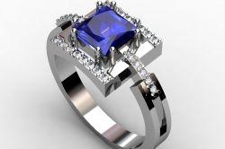 Фото - Як вибрати срібний перстень з сапфіром