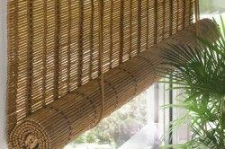 Штори з бамбука