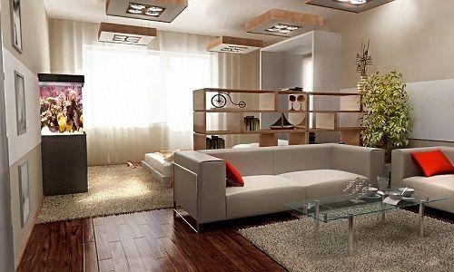Фото - Як виконати поділ спальні і вітальні?
