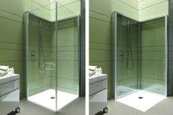 Прозорі душові кабінки