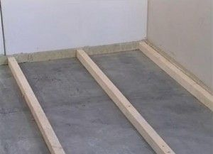 Фото - Як виконується пристрій дерев'яної підлоги по лагам?