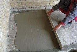 цементна стяжка