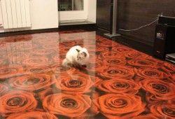 Фото - Як заливати наливна підлога: технологія високоміцного поліуретану
