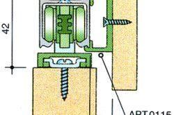 Схема монтажу класичної двері