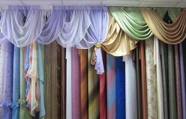 Фото - Оригінальні і красиві штори своїми руками