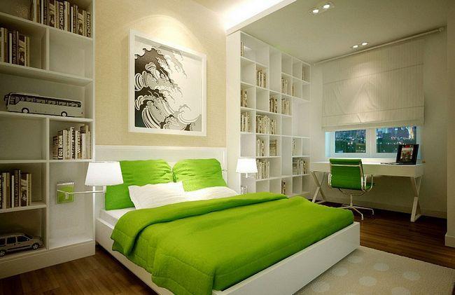 Фото - Які кольори підходять для стін спальні?
