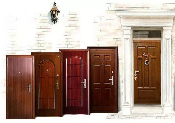 Різновиди сталевих дверей