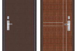 Дизайн зовнішньої і внутрішньої обробки металевих дверей