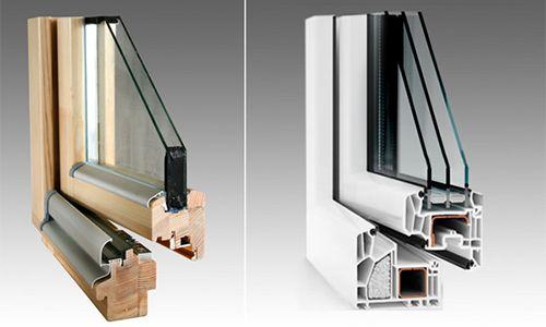 Фото - Які вікна - пластикові або дерев'яні - краще?