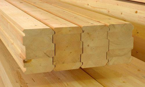 Фото - Які переваги в будівництві має березовий брус?