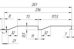 Стандартний розмір вінілового сайдинга