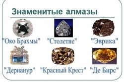знамениті алмази