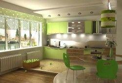 Фото - Яке підлогове покриття вибрати для кухні: плюси і мінуси матеріалів