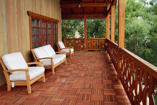 Фото - Який деревиною краще обробляти на дачі терасу?