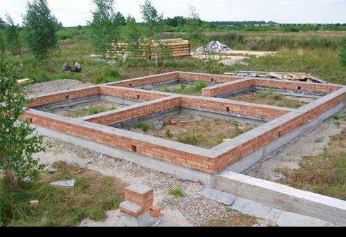 Фото - Який фундамент підійде для одноповерхового цегляного будинку?