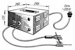 Саморобний зварювальний апарат для зварювання на постійному струмі