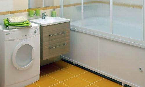 Фото - Який екран для ванної можна зробити