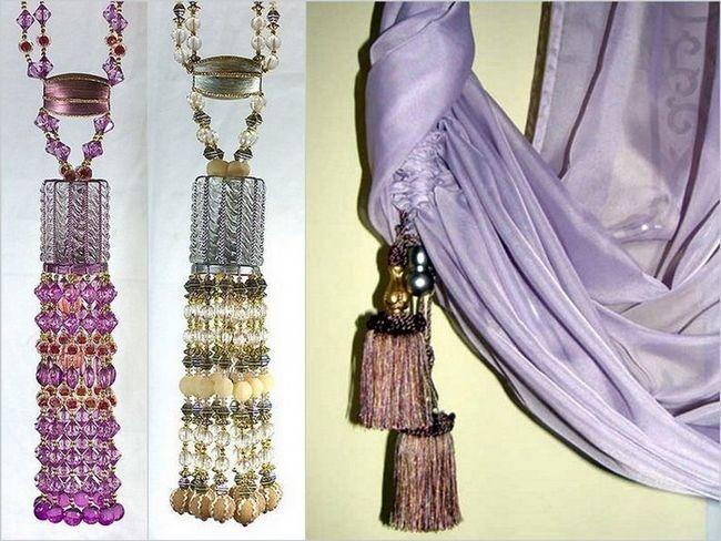 Фото - Як зробити декоративні штори своїми руками?