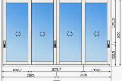 Фото - Який тип віконних систем вибрати при склінні лоджії?