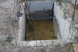 Вигрібна яма з бетону