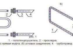 Схема рушникосушки з кутовими зєднаннями