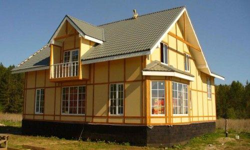 Фото - Які переваги каркасних будинків