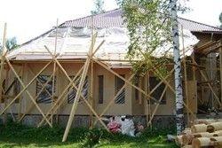 каркасна прибудова до будинку