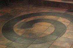 керамічна плитка на підлозі в кухні