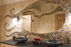 Фото - Керамічна плитка: незвичайний дизайн і цікаве оформлення