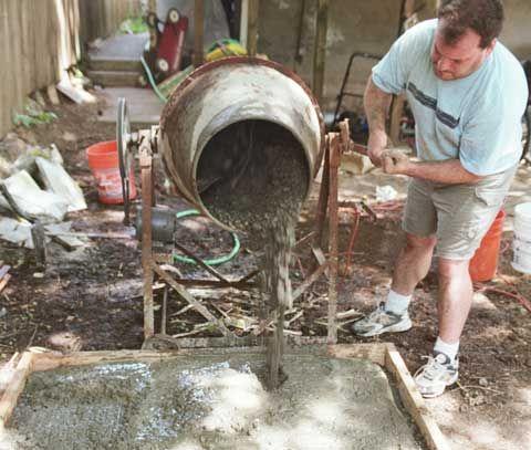 Підготовка розчину для кладки керамзитоблоки