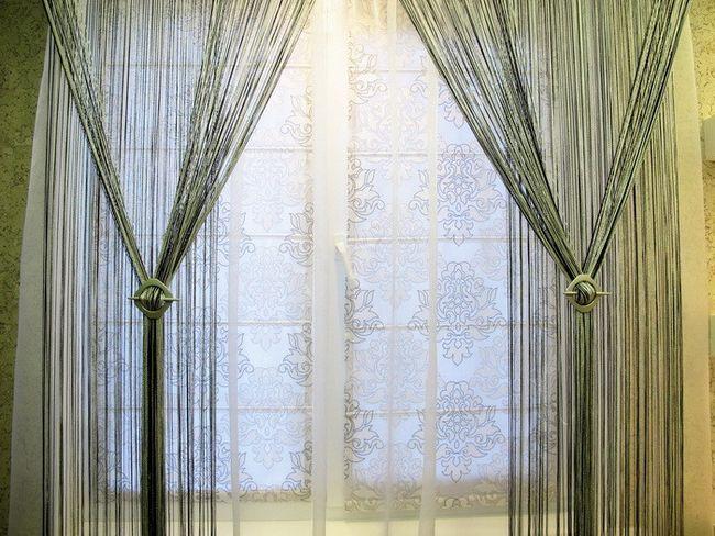Фото - Серпанок - оригінальні штори своїми руками