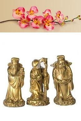 Фото - Китайські божества фен-шуй: 3 зоряних старця