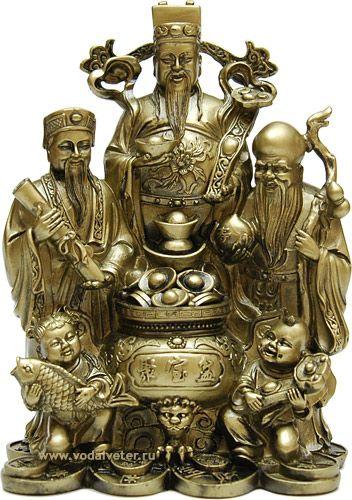 китайські божества і їх значення