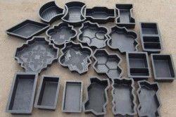 Форми для виготовлення плитки