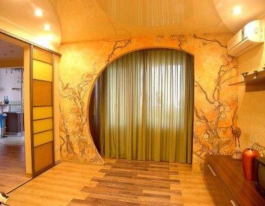 Фото - Конструкції з гіпсокартону на стіні
