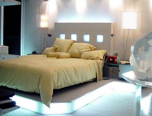 Фото - Красиве і комфортне освітлення спальні без люстри