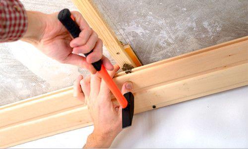 Монтаж деревяної вагонки на стелю