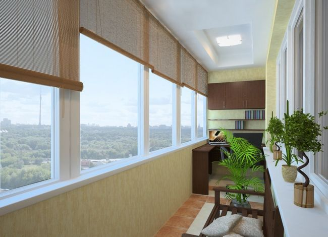 Фото - Крісло на балкон і інші варіанти оформлення