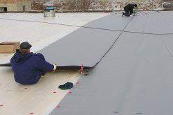 правильний ремонт мембранної покрівлі