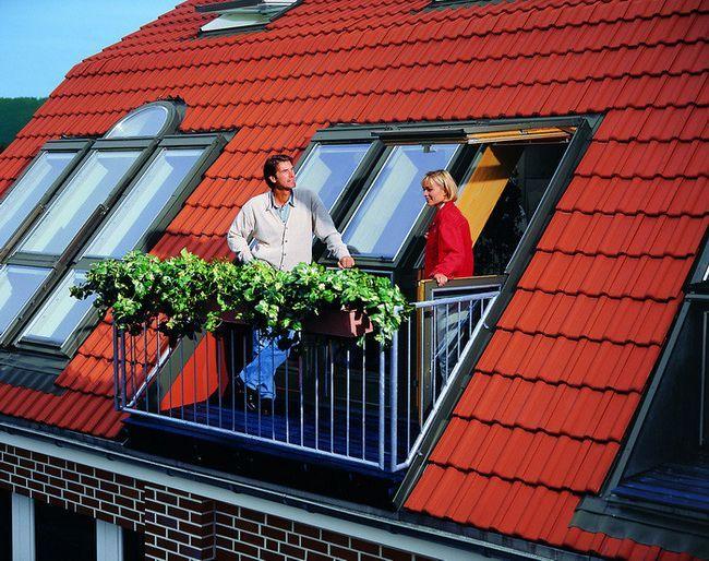 Фото - Покрівля мансардного даху