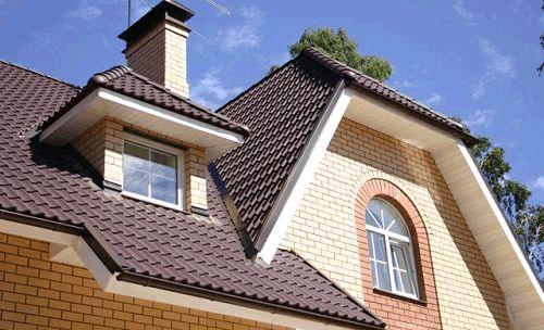 Фото - Дах з металочерепиці - надійний захист в новому будинку