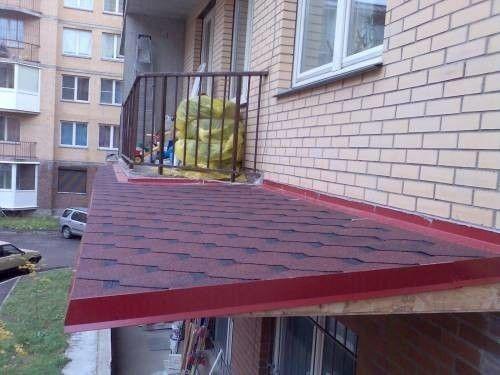 Фото - Дах на балкон